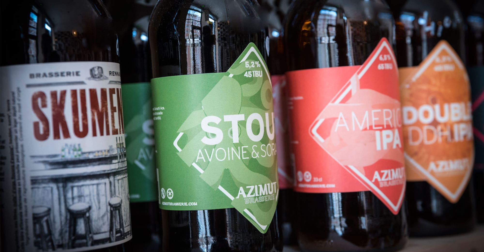 Cave à bières artisanales